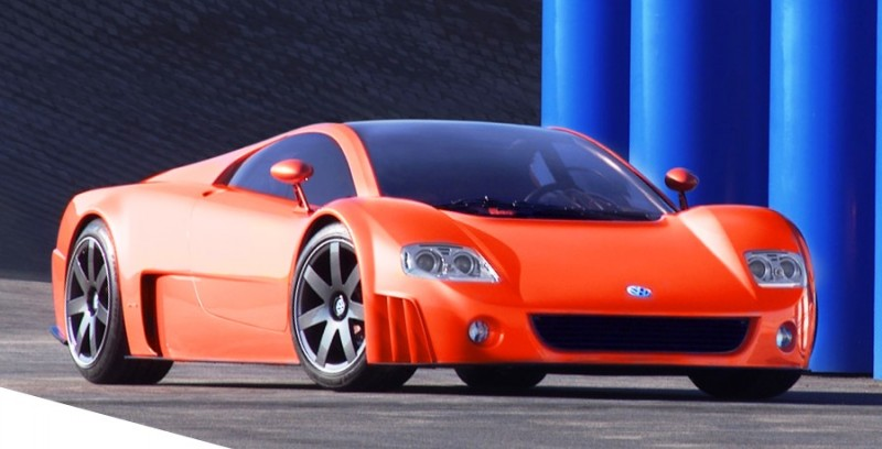 2001 Volkswagen W12 Coupe Concept Introduces Huge Engine and Hypercar Performance to VW Lore 14