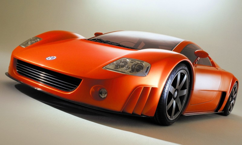 2001 Volkswagen W12 Coupe Concept Introduces Huge Engine and Hypercar Performance to VW Lore 17