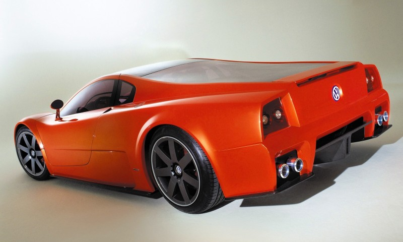 2001 Volkswagen W12 Coupe Concept Introduces Huge Engine and Hypercar Performance to VW Lore 18