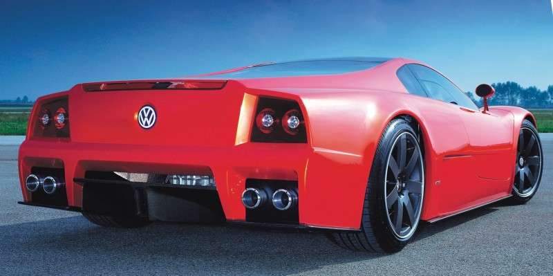 2001 Volkswagen W12 Coupe Concept Introduces Huge Engine and Hypercar Performance to VW Lore 19