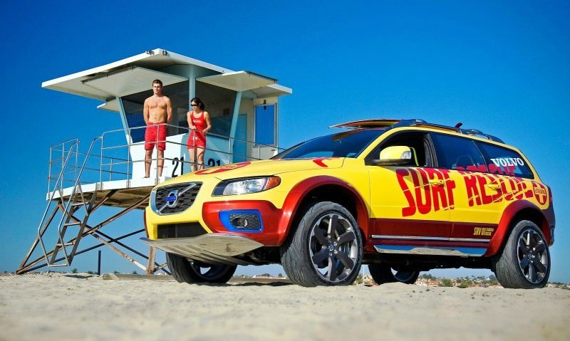 2005 Volvo XC70 AT and 2007 XC70 Surf Rescue are California Surf'n'Turf Dreams 21