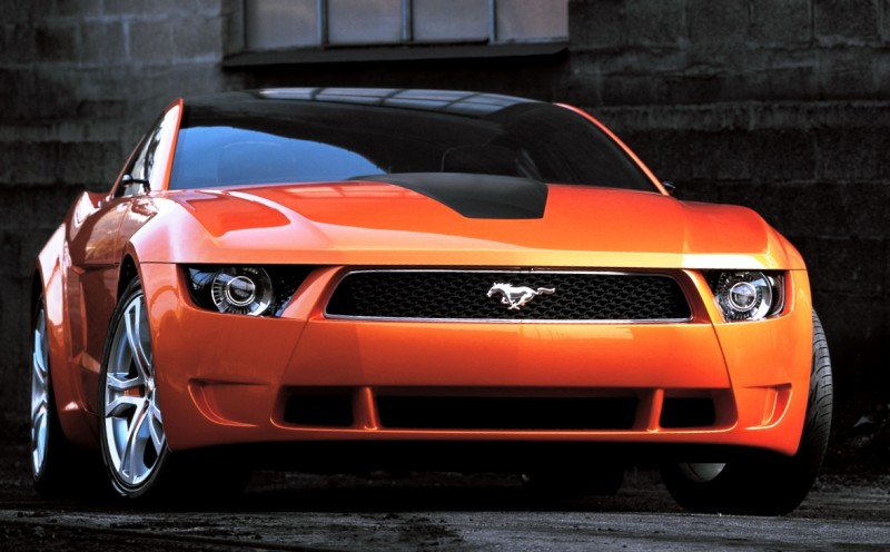2006 Giugiaro Ford Mustang Concept Was Ringer Vs In House Ford Designs