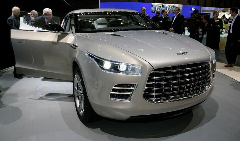 2009 Aston Martin LAGONDA SUV Concept 9