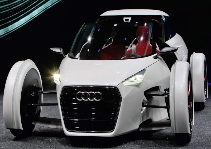 Impressionen von der Weltpremiere des Audi urban concept
