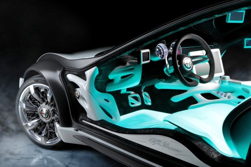 2010 BERTONE Pandion for Alfa-Romeo Is Next-Level Brilliance Inside and Out 52