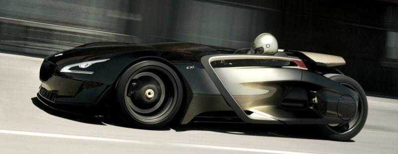 2011 Peugeot EX1 is Part EV, Part Quad-Bike and Part Track-Day Supercar 10