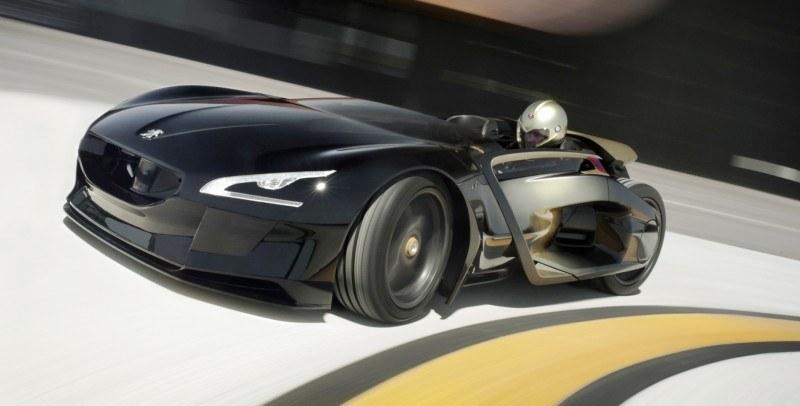2011 Peugeot EX1 is Part EV, Part Quad-Bike and Part Track-Day Supercar 11
