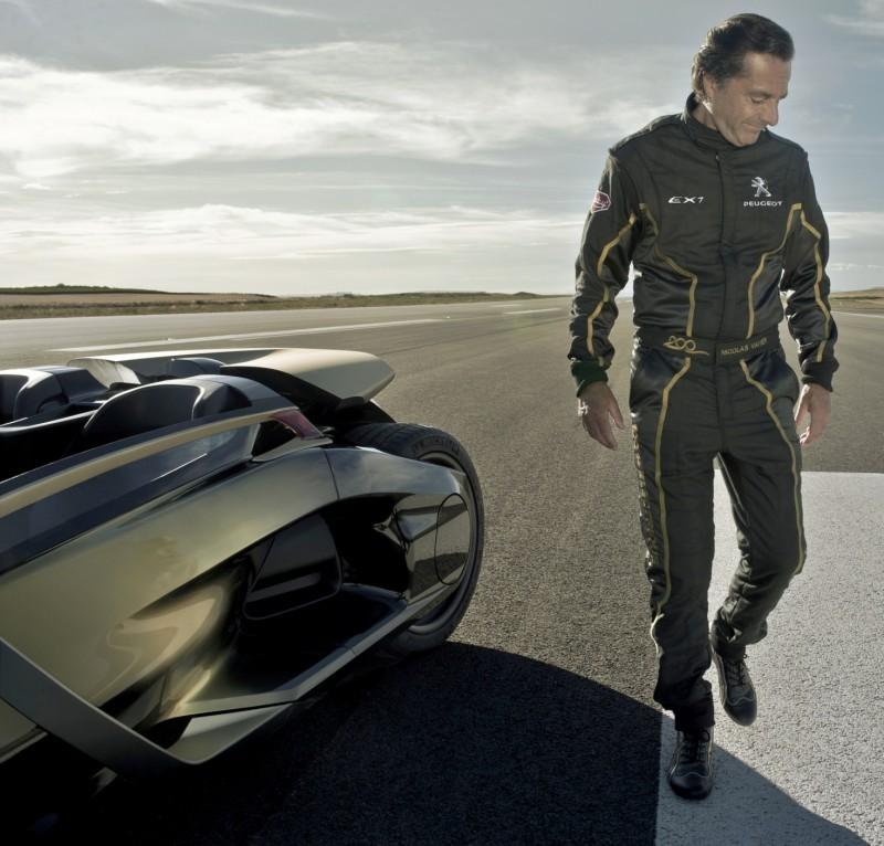 2011 Peugeot EX1 is Part EV, Part Quad-Bike and Part Track-Day Supercar 16