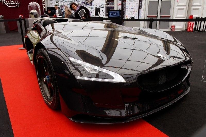 2011 Peugeot EX1 is Part EV, Part Quad-Bike and Part Track-Day Supercar 25