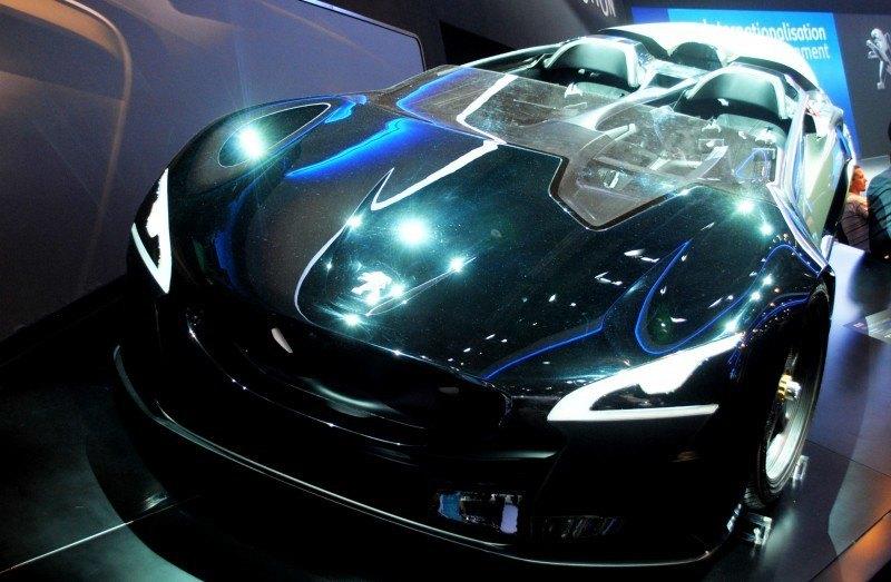2011 Peugeot EX1 is Part EV, Part Quad-Bike and Part Track-Day Supercar 32