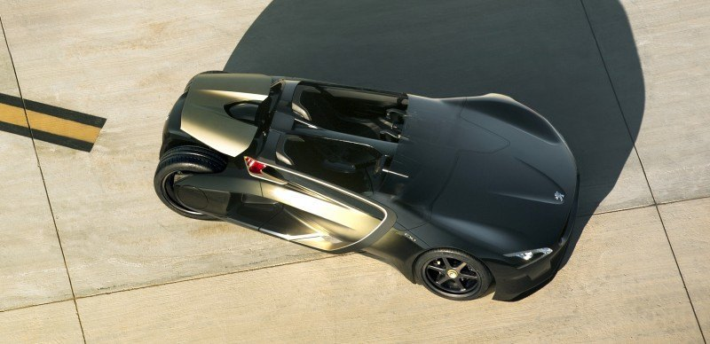 2011 Peugeot EX1 is Part EV, Part Quad-Bike and Part Track-Day Supercar 7