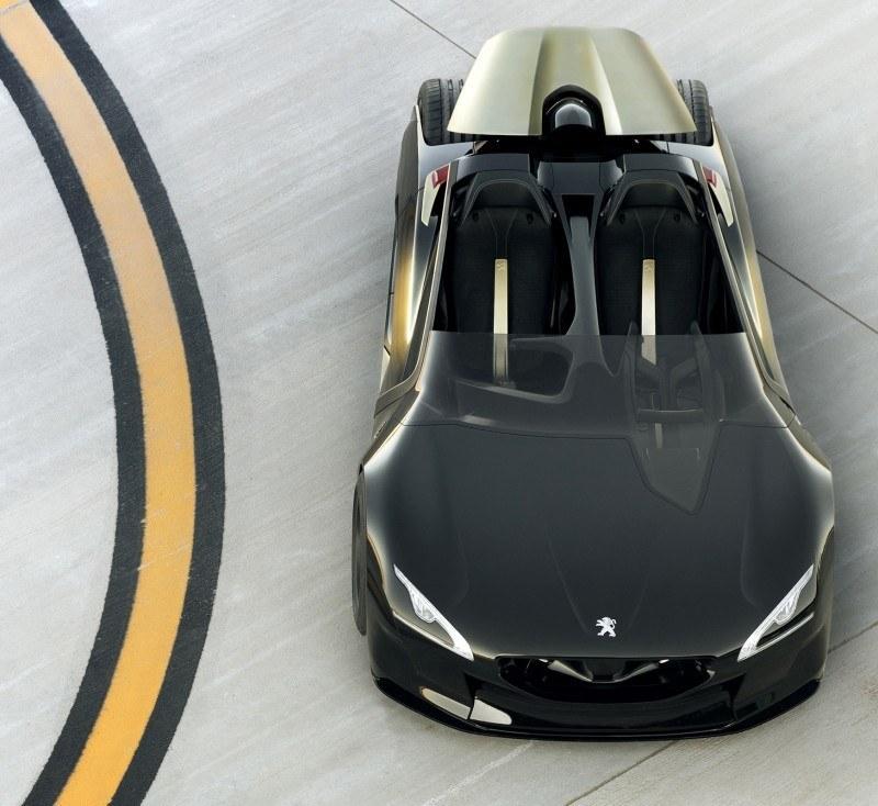 2011 Peugeot EX1 is Part EV, Part Quad-Bike and Part Track-Day Supercar 8