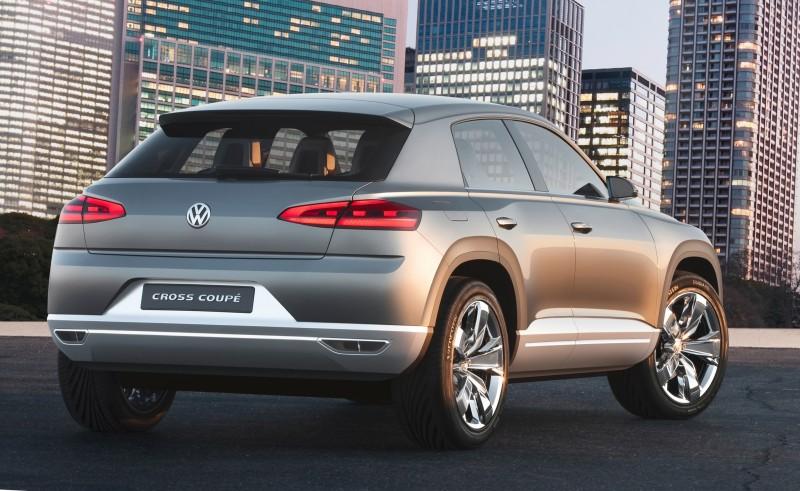 2011 Volkswagen Cross Coupe SUV Concept 25