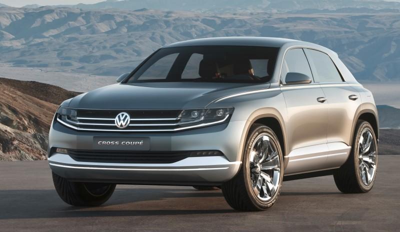2011 Volkswagen Cross Coupe SUV Concept 28