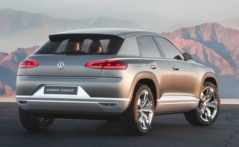 2011 Volkswagen Cross Coupe SUV Concept 29