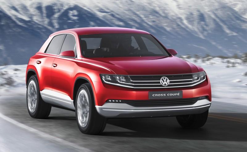2011 Volkswagen Cross Coupe SUV Concept 36