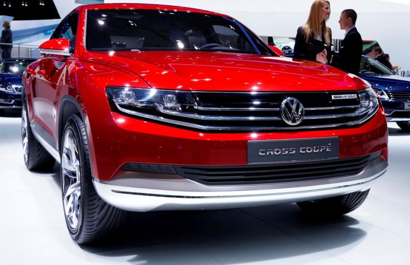 2011 Volkswagen Cross Coupe SUV Concept 9