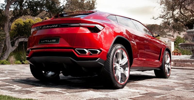 2012 Lamborghini Urus Concept 13