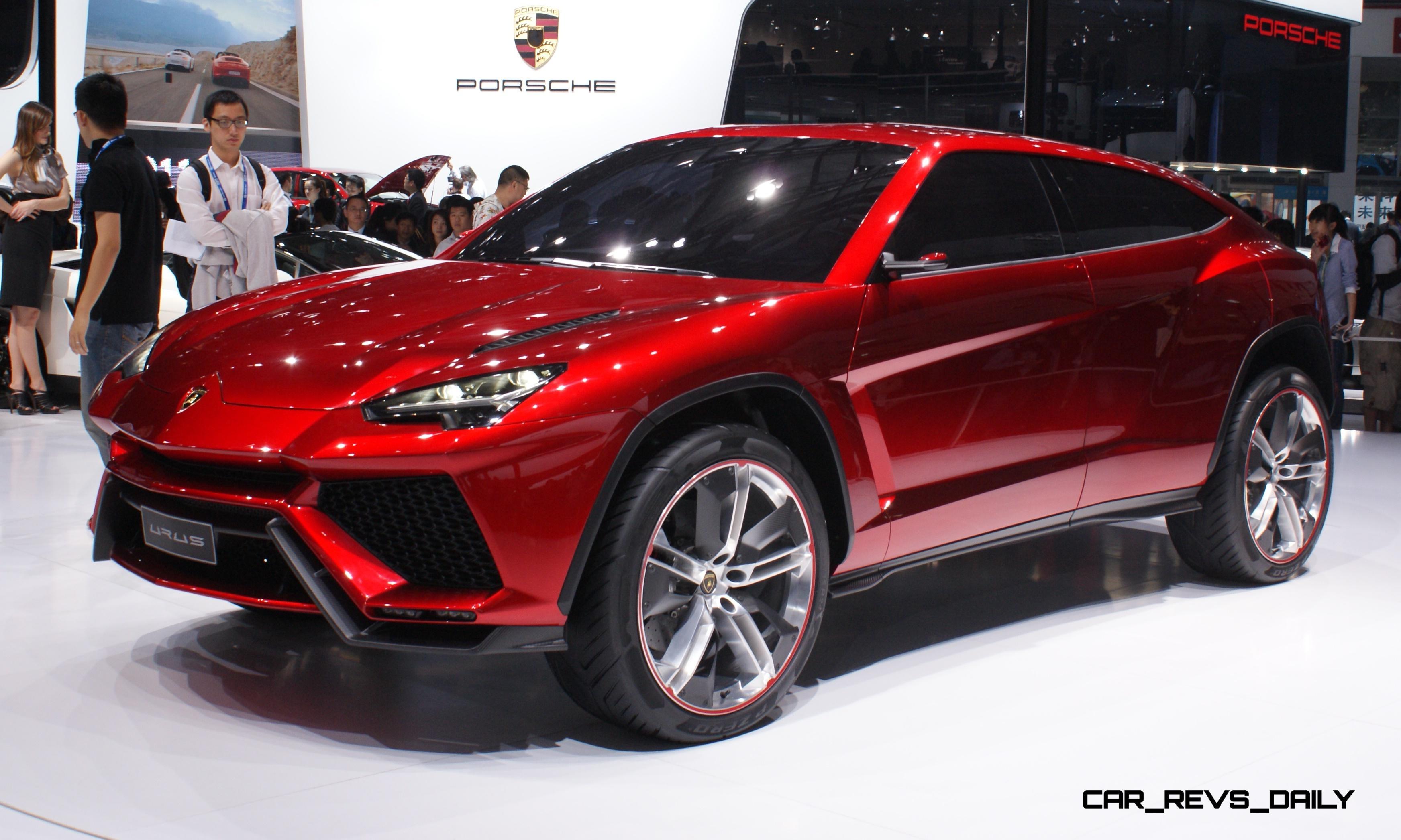 Lamborghini Paris Launch Rumored To Be AllNew 2016 URUS