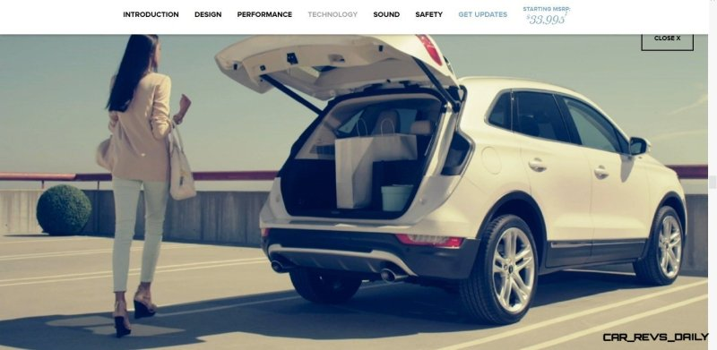 2015 Lincoln MKC Crossover - A Cool Mix of Infiniti and Audi68