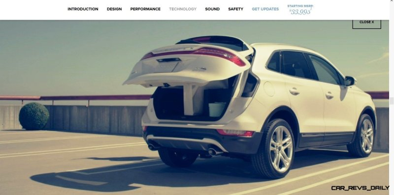 2015 Lincoln MKC Crossover - A Cool Mix of Infiniti and Audi69