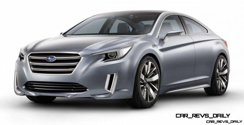 2015 Subaru Legacy Concept Directly Previews Next LGT5