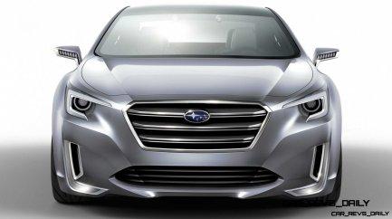 2015 Subaru Legacy Concept Directly Previews Next LGT8