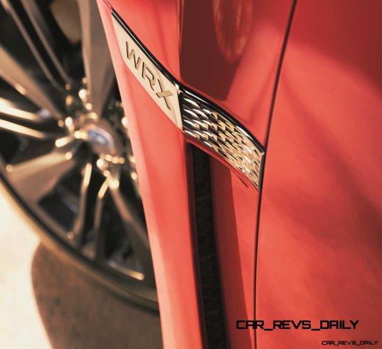 2015 Subaru WRX Nears 270 Horsepower, Looks Hot1