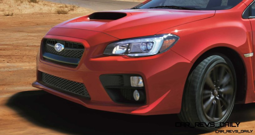 2015 Subaru WRX Nears 270 Horsepower, Looks Hot14