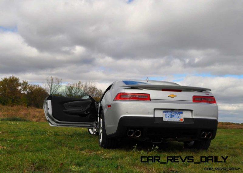 CarRevsDaily.com - 2014 Chevy Camaro 2LT RS 46