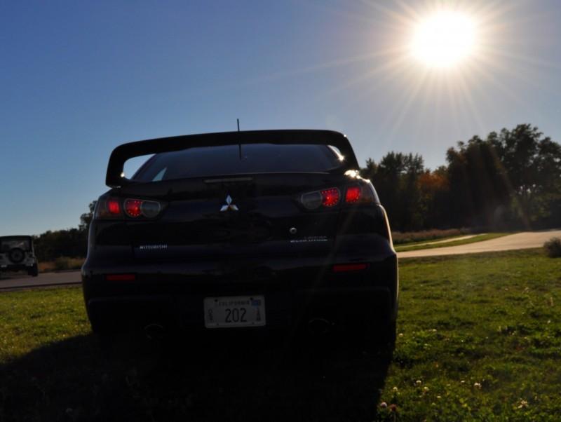 CarRevsDaily.com - 2014 Mitsubishi Lancer Evolution GSR40