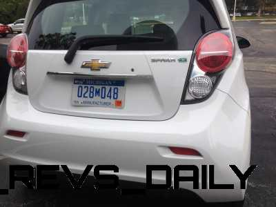 IMG_2520 2014 Chevrolet Spark EV – First-Glimpse Photos Inside and Out – Looks Cute In White!