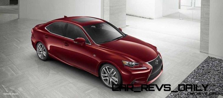 Lexus-IS-F-Sport-Exterior-MatadorRedMica-18-inchSplit-Five-SpokeAlloy