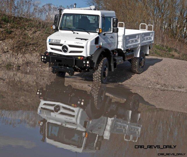 New Unimog U5023 - Review CarRevsDaily
