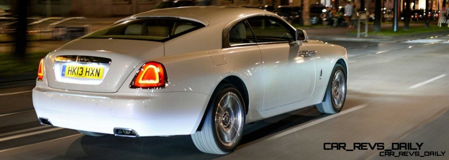 RR Wraith Carrara White Color Showcase CarRevsDaily25