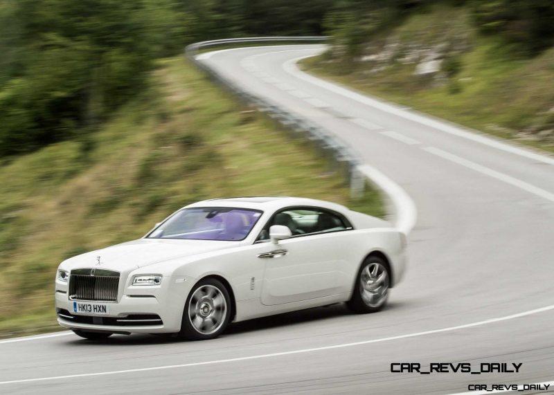 Rolls-Royce Wraith launch, Vienna, September 2013
