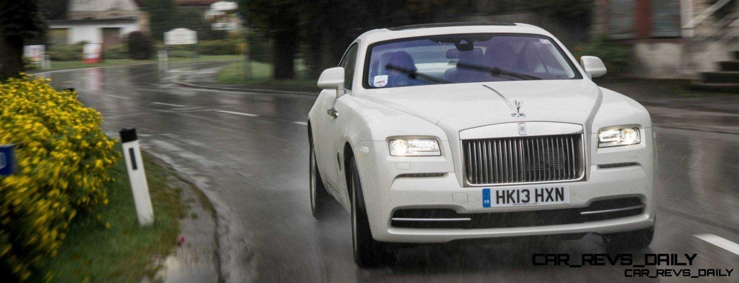 RR Wraith Carrara White Color Showcase CarRevsDaily65