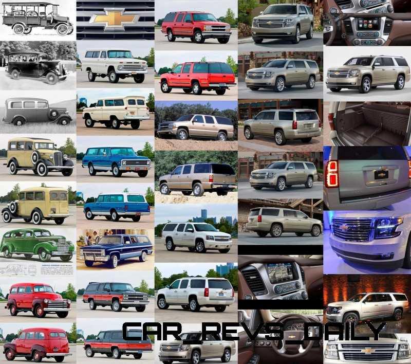 Wallpaper and Poster of 1915 - 2015 Chevrolet Suburban's Evolution!