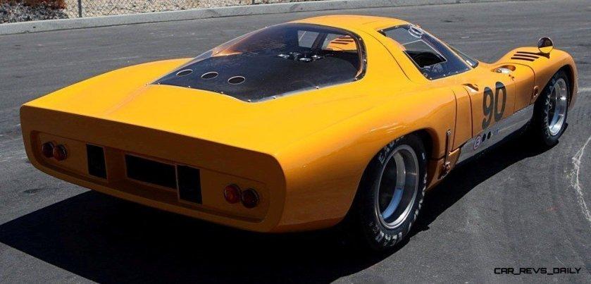 1969 McLaren M6GT - Specs vs F1 and P1 - Photo 17