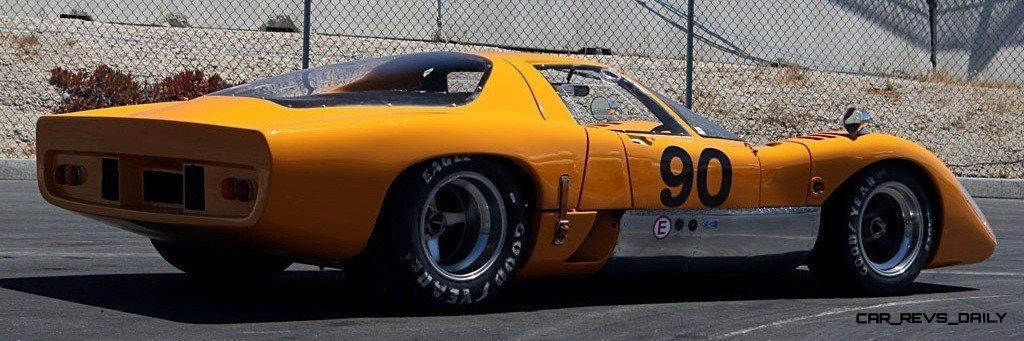 1969 McLaren M6GT - Specs vs F1 and P1 - Photo 18