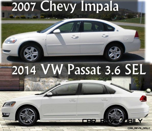 2007 Impala vs 2014 Passat V6 SEL