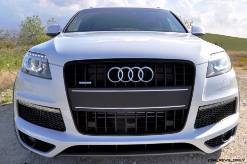 2014 Audi Q7 TDI S-line Plus - Carrara White 20
