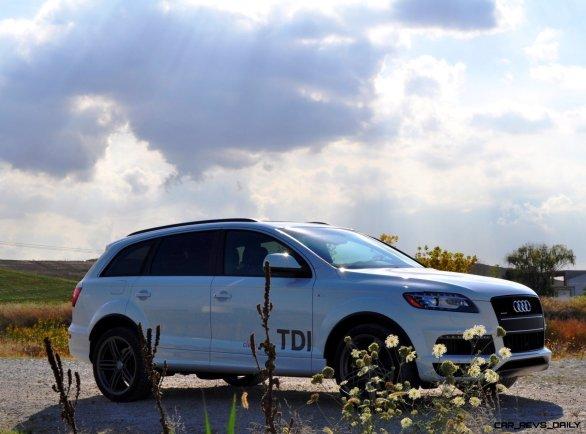 2014 Audi Q7 TDI S-line Plus - Carrara White 6