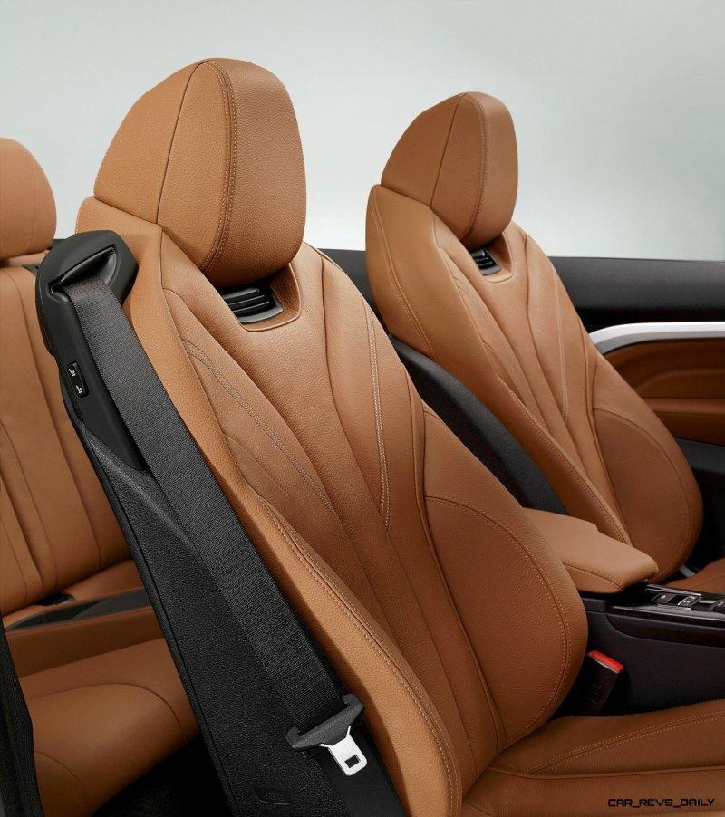 2014 BMW 428i and 435i Make Beautiful, Practical Convertibles 40