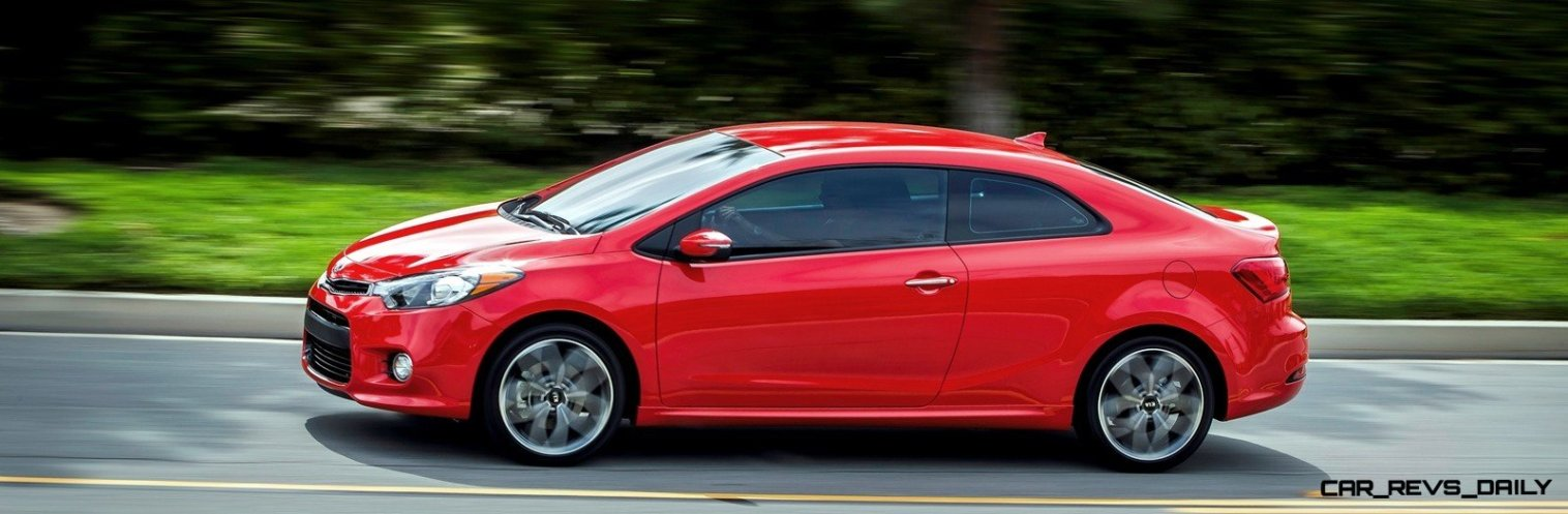 2014 Kia Forte Koup Adds First Turbo Option to Slinky 2-Door Shape 11