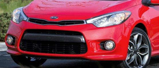2014 Kia Forte Koup Adds First Turbo Option to Slinky 2-Door Shape 13