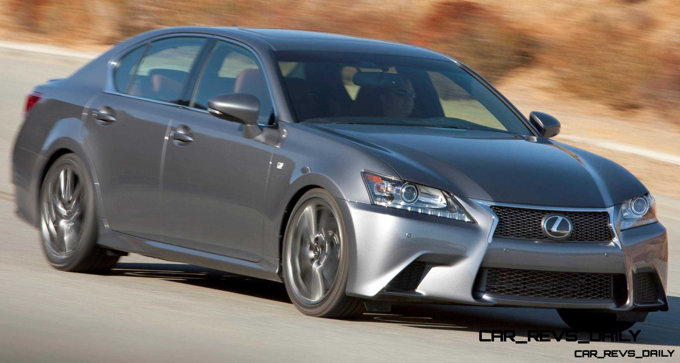 2014 Lexus GS350 and GS F Sport Buyers Guide Info 32
