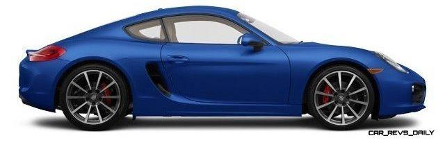2014 Porsche Cayman S - COLORS 13