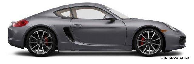 2014 Porsche Cayman S - COLORS 16