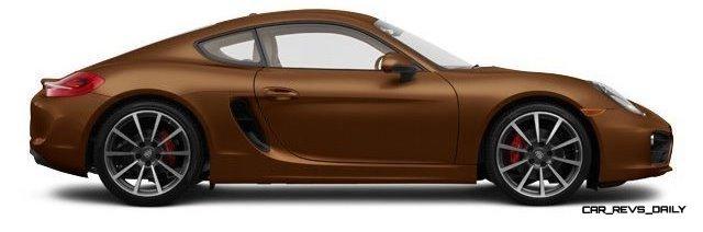 2014 Porsche Cayman S - COLORS 22